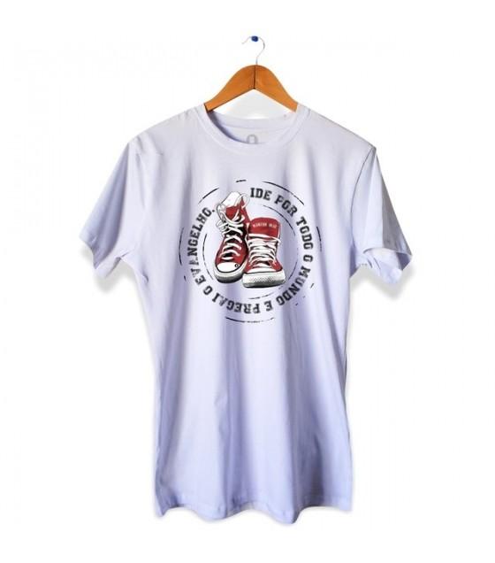 Camiseta Ide e Pregai o Evangelho - Masculina
