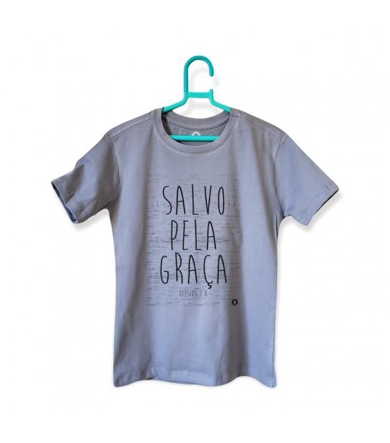 Camiseta Salvo Pela Graça - Masculina