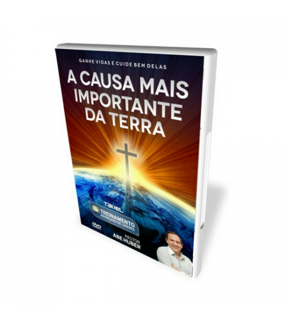 DVD A Causa Mais Importante Da Terra