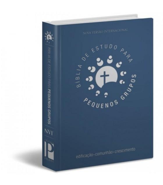 Bíblia de Estudo Para Pequenos Grupos (Azul)