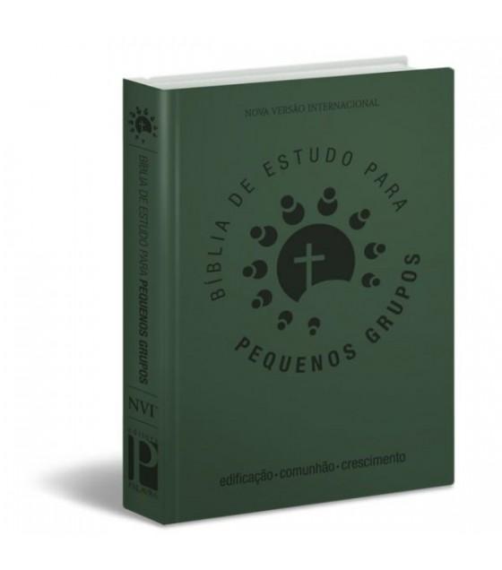 Bíblia de Estudo Para Pequenos Grupos (Verde)