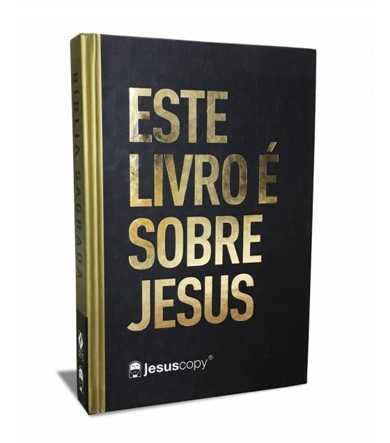 Bíblia Este Livro é Sobre Jesus | Letra Grande | NAA