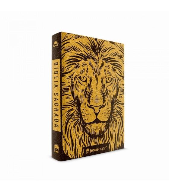 Bíblia Leão Luxo  | NVI | JesusCopy