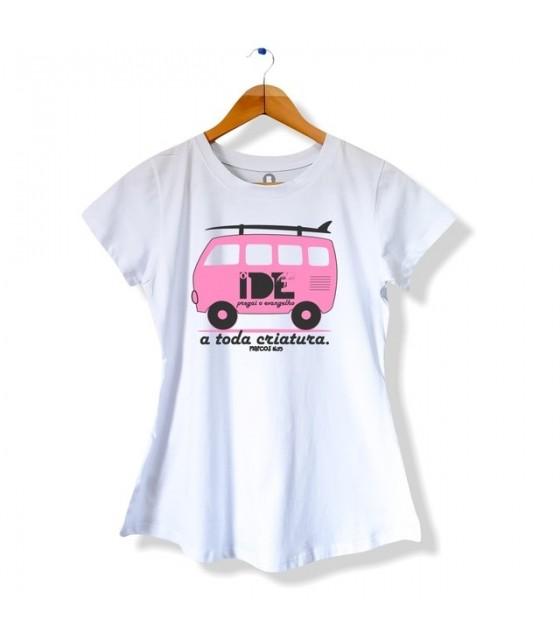 Camiseta Ide e Pregai o Evangelho - Feminina