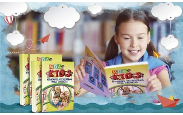 MDA Kids: livro de atividades para crianças é lançado