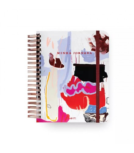 Planner Minha Jornada Artística -  Junia Hayashi e Priscilla Subirá